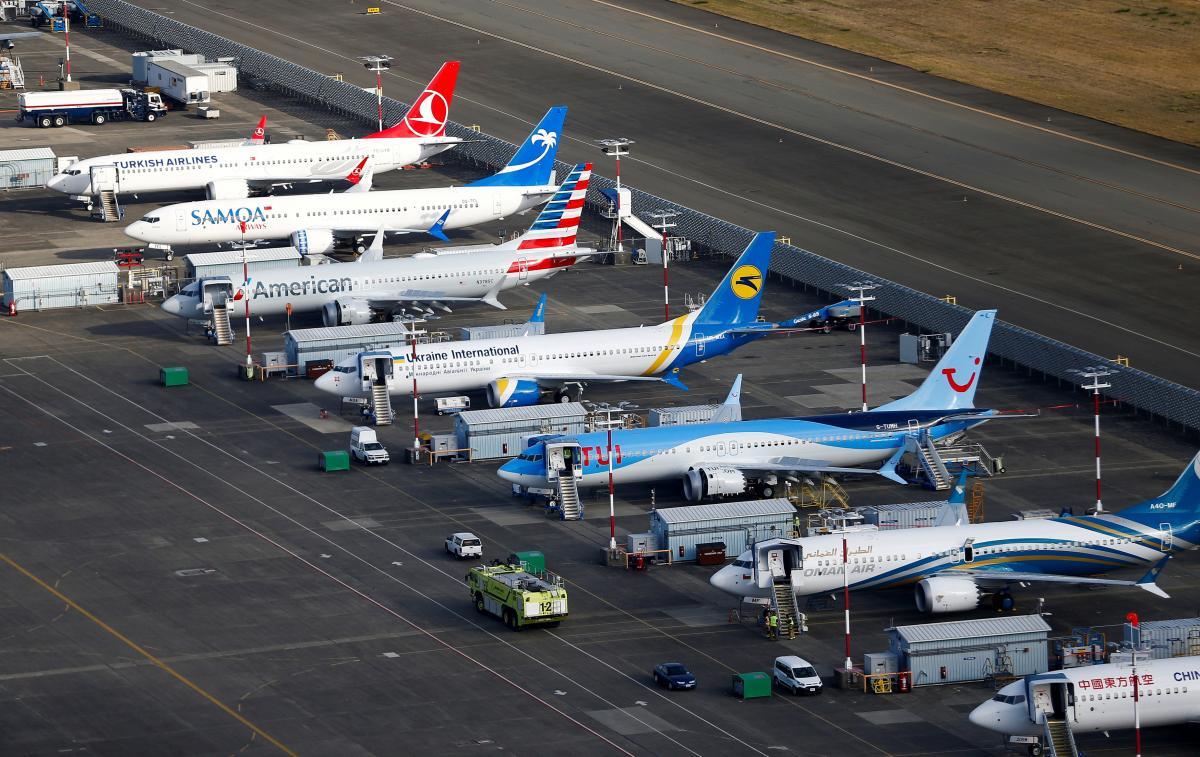 Нові літаки Boeing 737 MAX на заводі в США / REUTERS