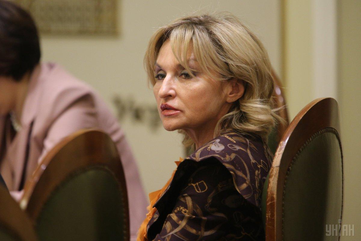 Ірина Луценко завтра прозвітує перед Зеленським як представник президента / фото УНІАН