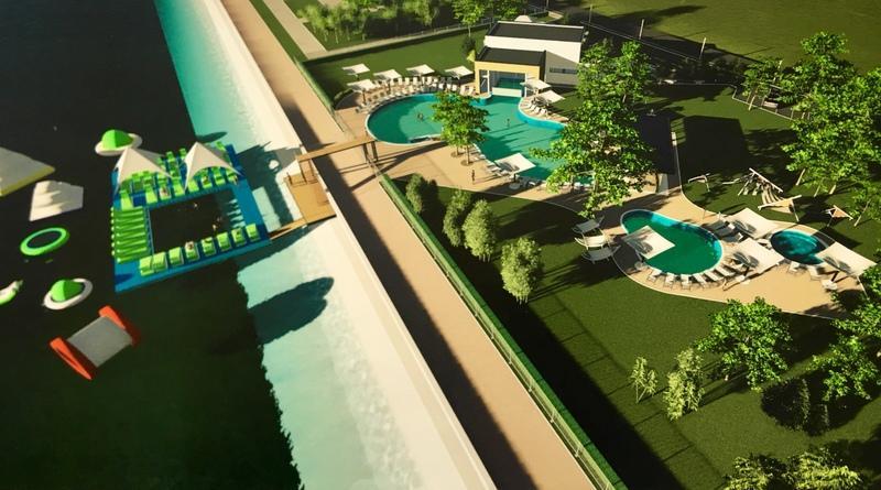 На візуалізації проекту чітку видно капітально споруду, що ставить під сумнів можливість реалізації даного проекту в прибережній захисній зоні (фото: Edem)