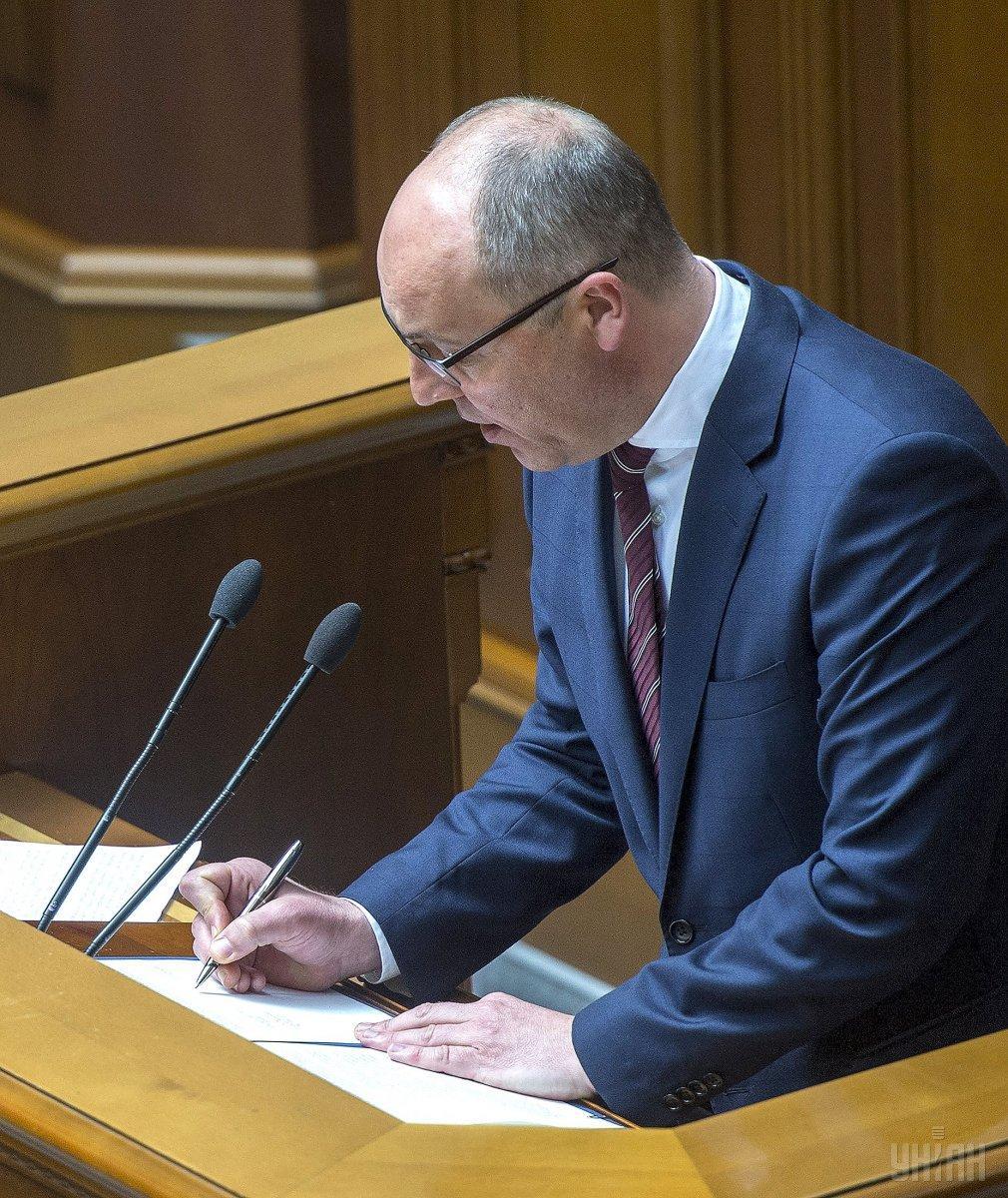 Парубий от имени парламента выразил соболезнование семье и близким Тымчука / УНИАН