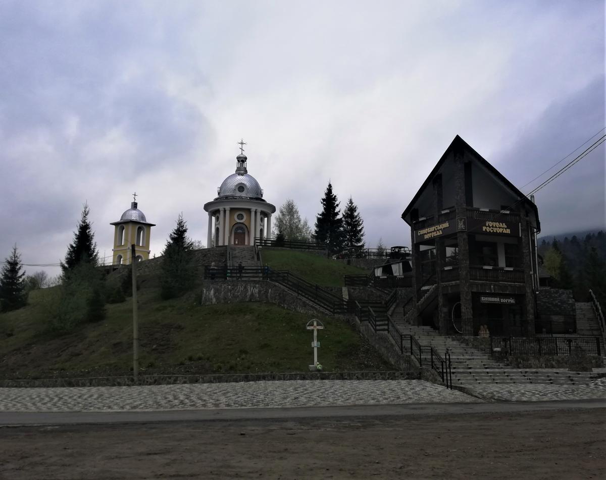 Въезд в нацпарк Синевир / Фото Марина Григоренко