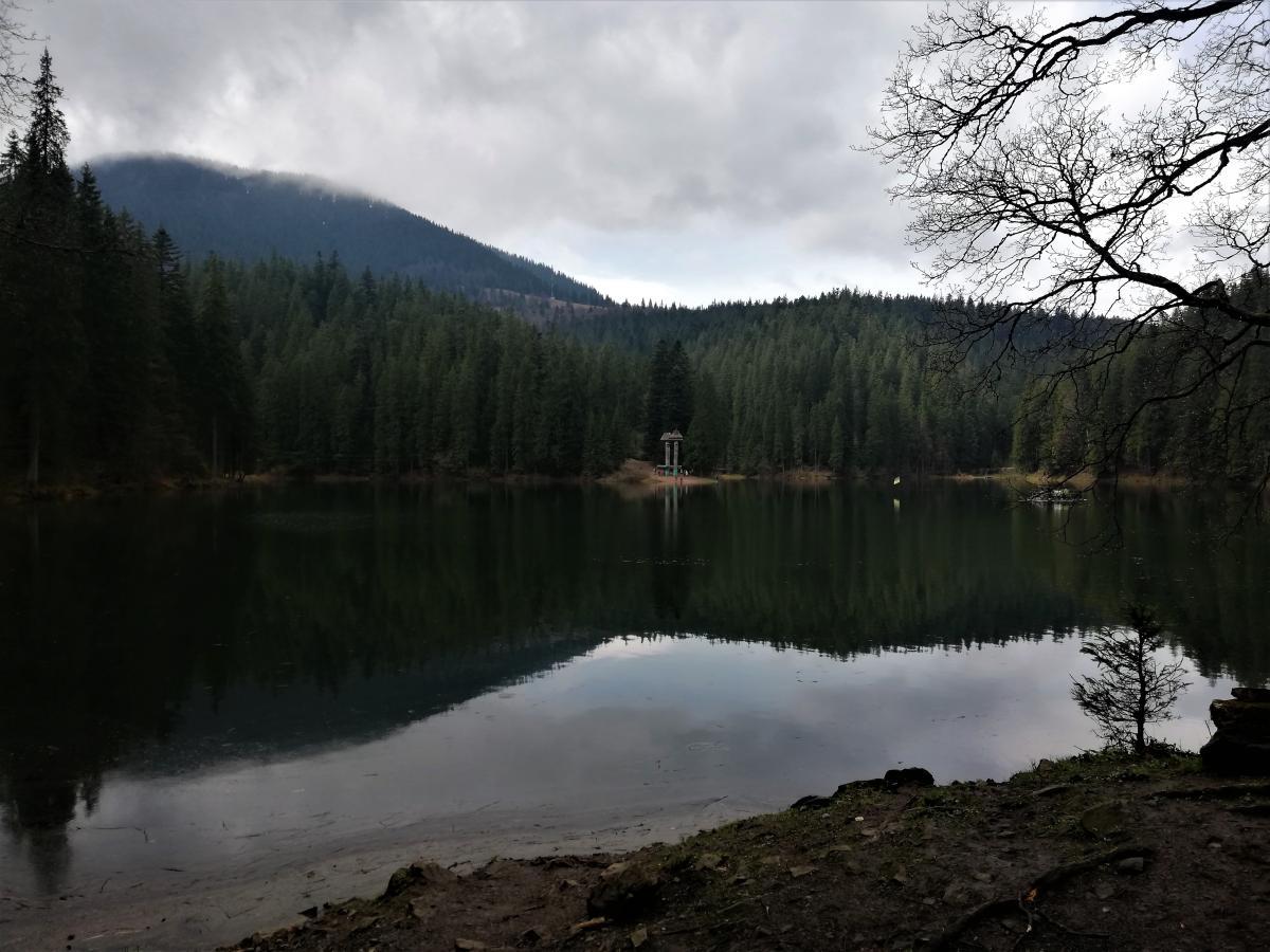 Знаменитое озеро Синевир / Фото Марина Григоренко