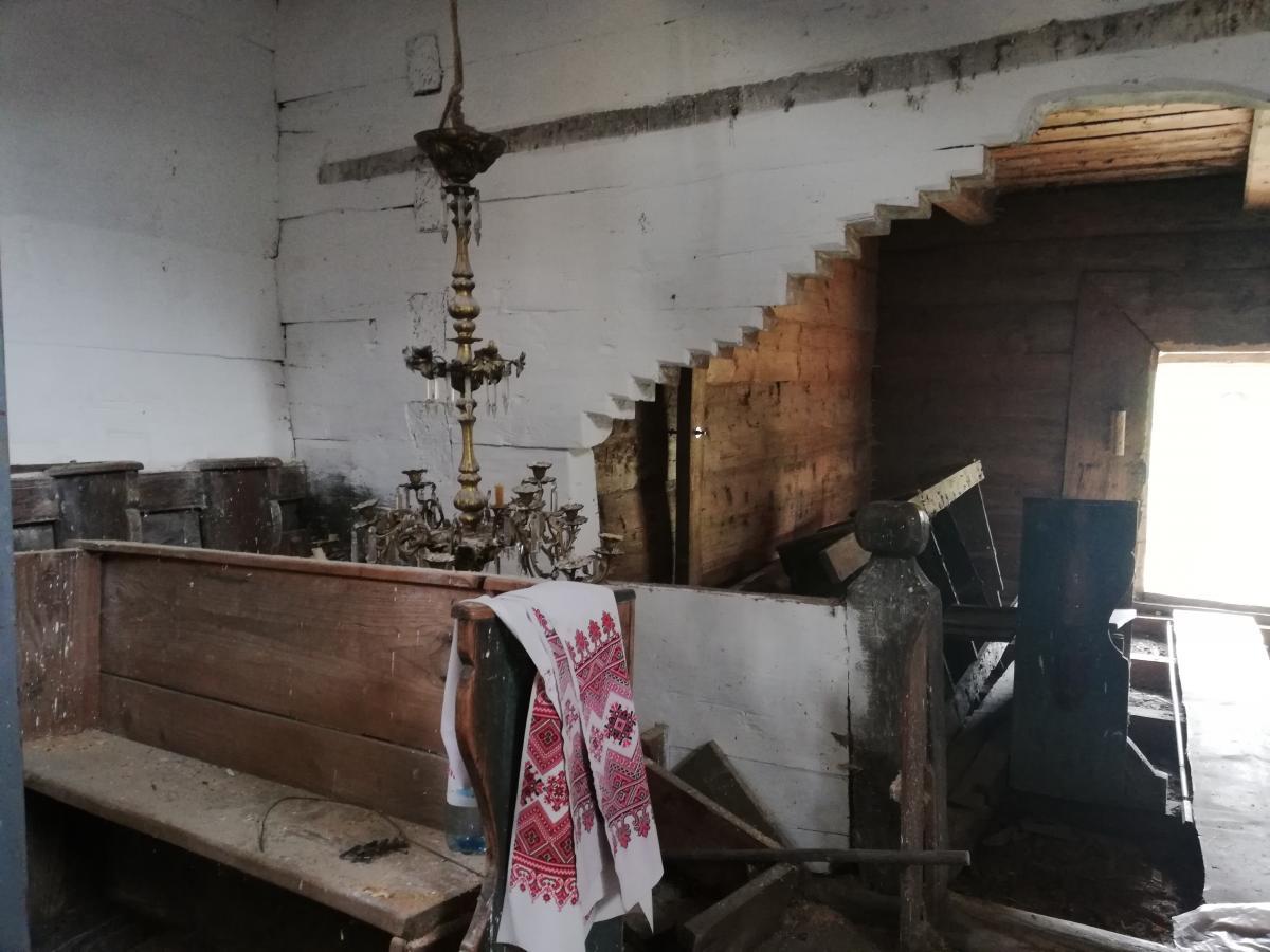 Сейчас церковь в селе Гукливый на реконструкции / Фото Марина Григоренко