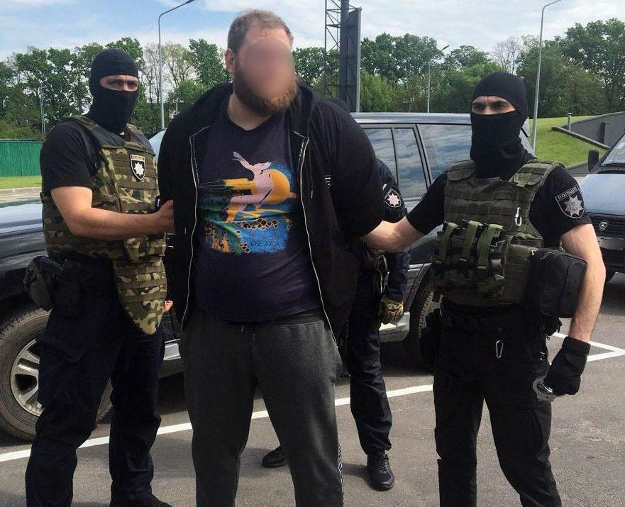 На Киевщине задержали сумоиста, подозреваемого в убийстве байкера / фото npu.gov.ua