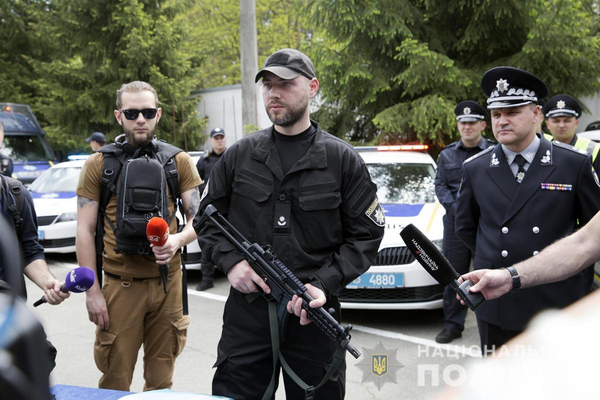 Пистолеты-пулеметы «МР-5» используются в деятельности полиции большинства стран / фото npu.gov.ua