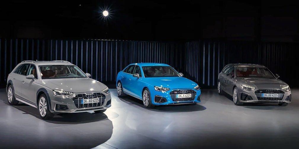 Audi представила обновленные седан и универсал A4 / фото Audi
