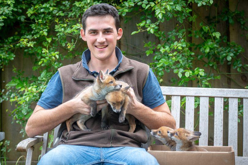 Чоловік поклав новонароджених тваринок в кишені куртки і відвіздо своєї матері / фото SWNS