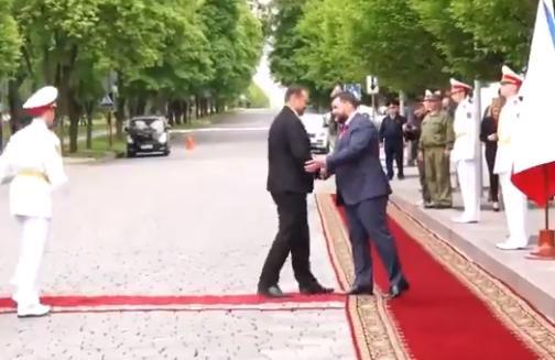В МЗС Чехії засудили візит свого депутата-комуніста в окупований Донецьк / Скріншот