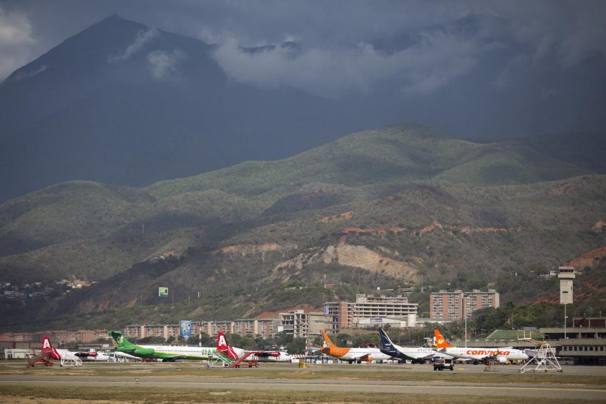 Аэропорт имени Симона Боливара в столице Венесуэлы Каракасе / REUTERS
