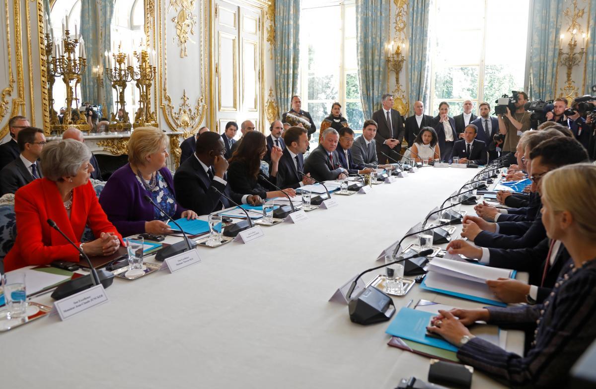 """У Парижі лідери держав і інтернет-компаній підписали """"Крайстчерчський заклик"""" / REUTERS"""