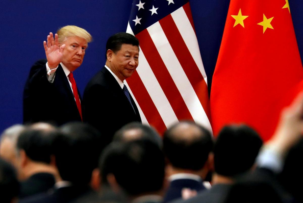 Президент США Дональд Трамп и глава Китая Си Цзиньпин / REUTERS