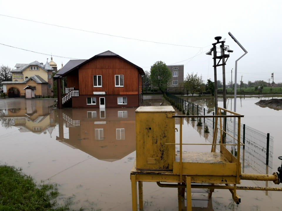 В Ивано-Франковской области затопило более 100 домов / ГСЧС