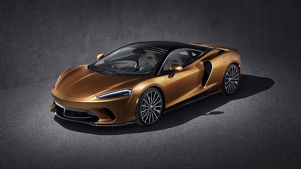 McLaren рассекретил новое купе GT / фото McLaren