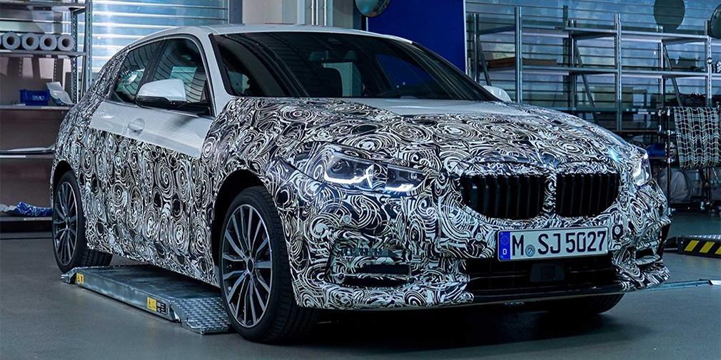 BMW показала дизайн новой 1-Series / фото BMW