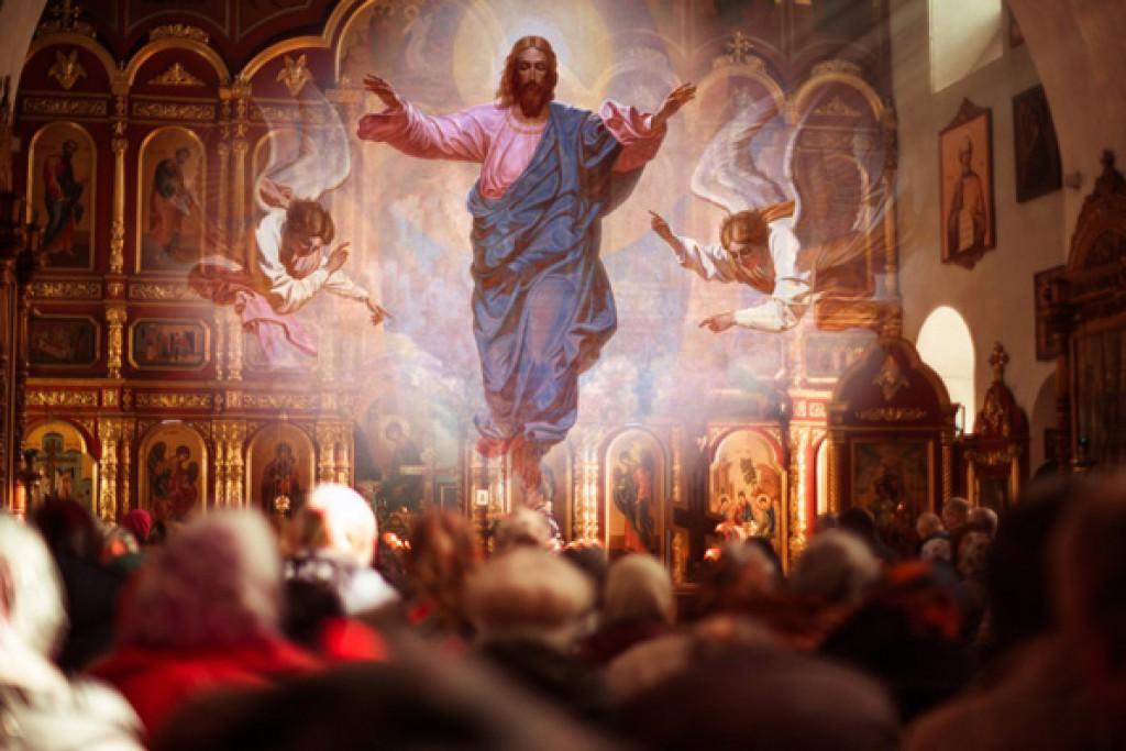 На Вознесение Господне в православных храмах проводится торжественная служба/ likorg.ru
