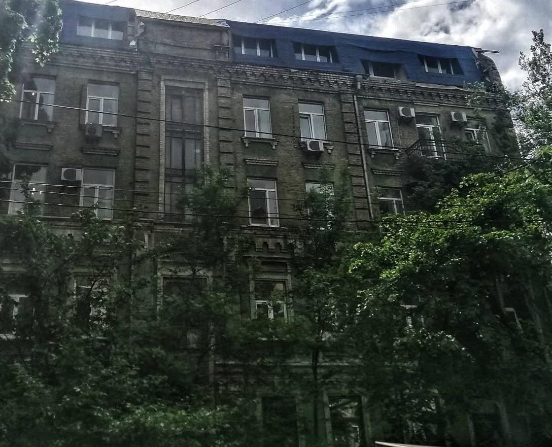 Зараз на горищне приміщення наклали арешт / фото kyiv.gp.gov.ua