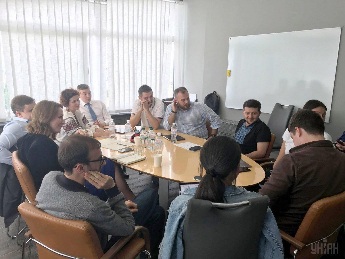 Зеленський зустрівся з представниками міжнародних рекрутингових і HR-агентств / фото УНІАН