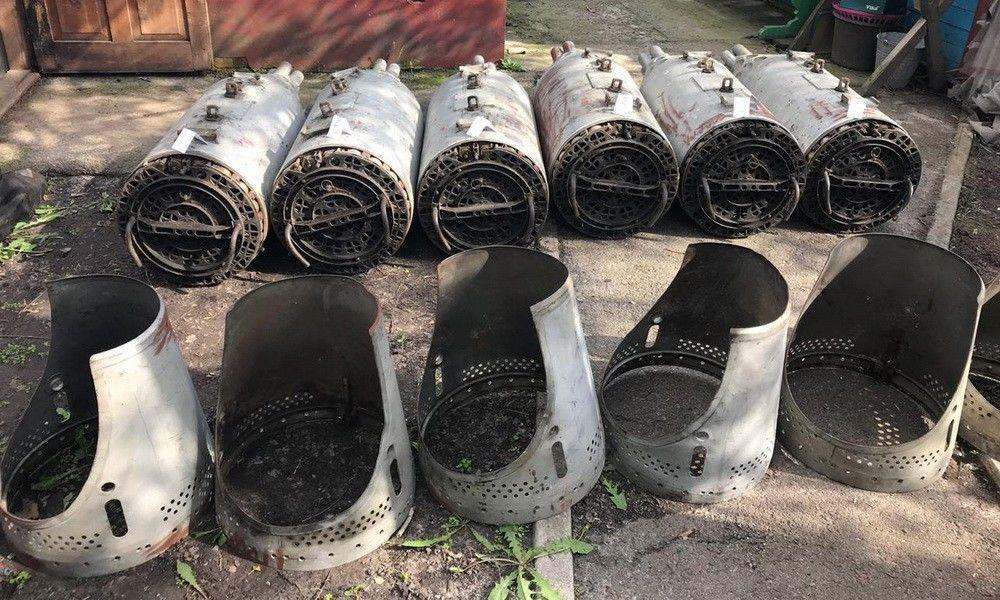 Обнаруженное вооружение фигуранты дела планировали вывезти в некоторые страны Африки / фото пресс-центр СБУ