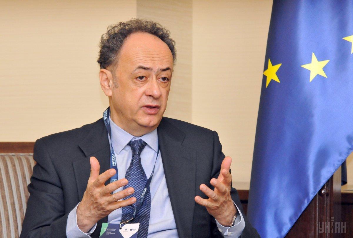 Мингарелли отметил, что ЕК поможет Украине остаться транзитером газа / фото УНИАН