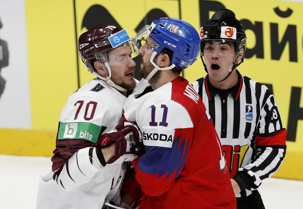 Чехия - Латвия / REUTERS