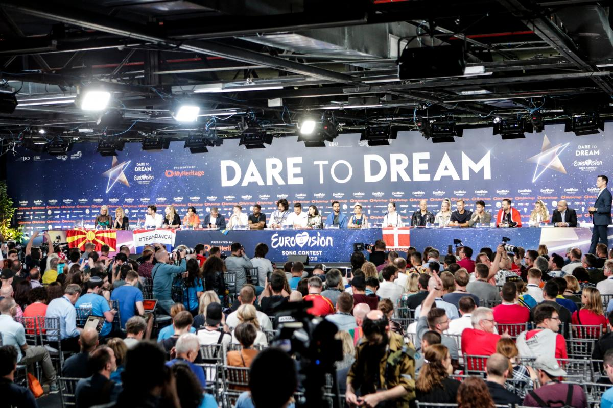 Пресс-конференция после второго полуфинала Евровидения-2019 / фото Thomas Hanses/eurovision.tv