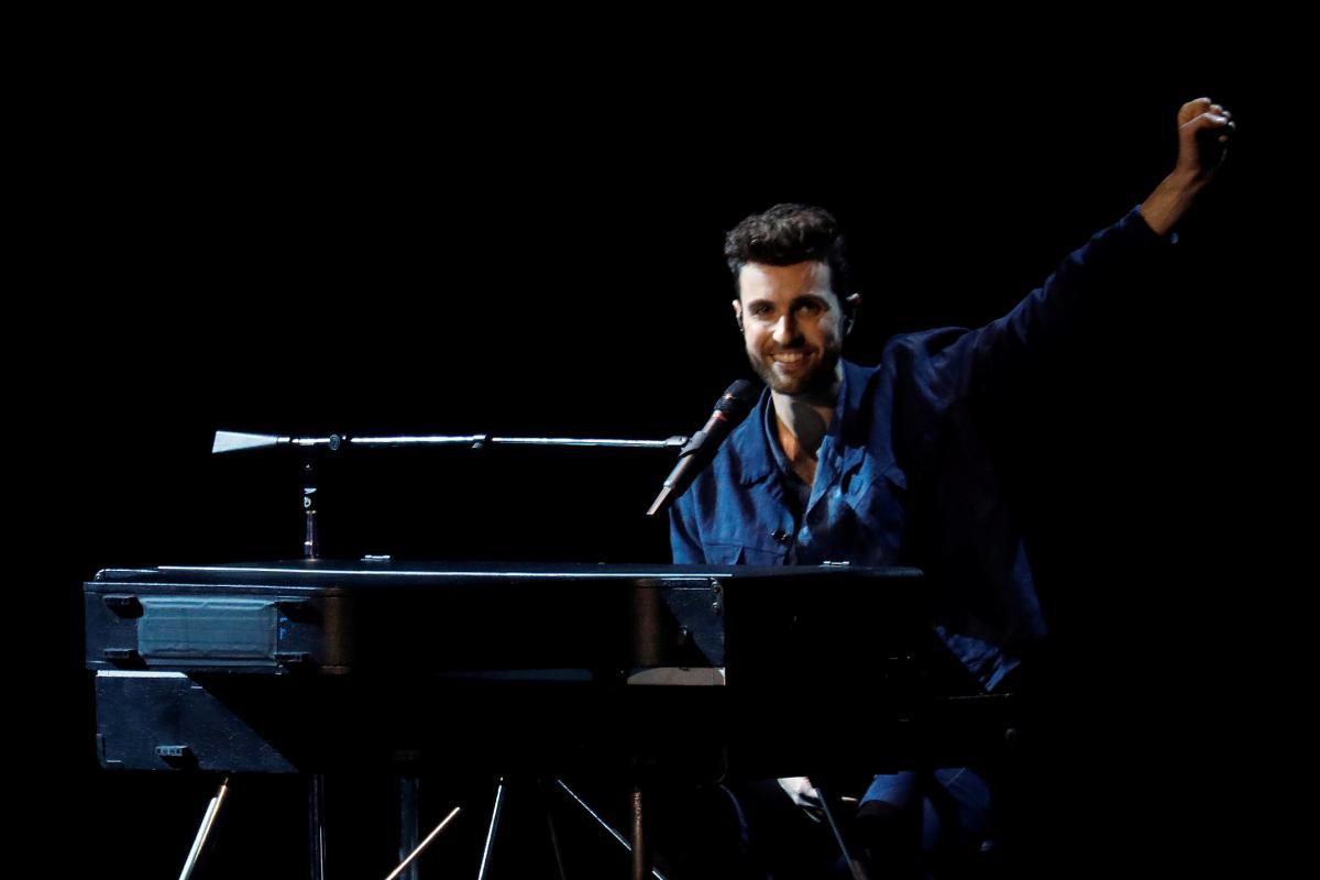 Дункан Лоренс не сможет выступить в гранд-финале Евровидения / фото REUTERS