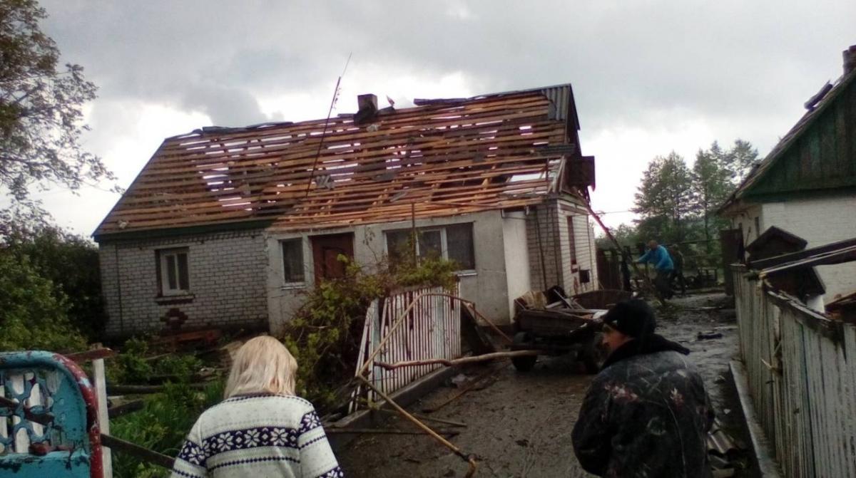 На Житомирщине пронесся торнадо / novograd.city