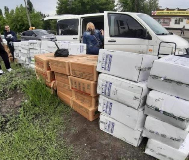 Они погрузили похищенный товар на сумму около 340 тыс. грн вавтомобильи пытались скрыться / пресс-служба прокуратуры города Киева