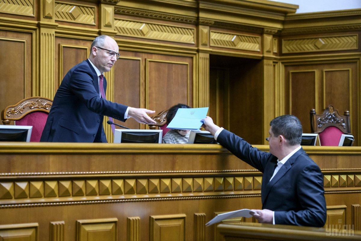 Парубий говорит, что это была хорошая коалиция / фото УНИАН