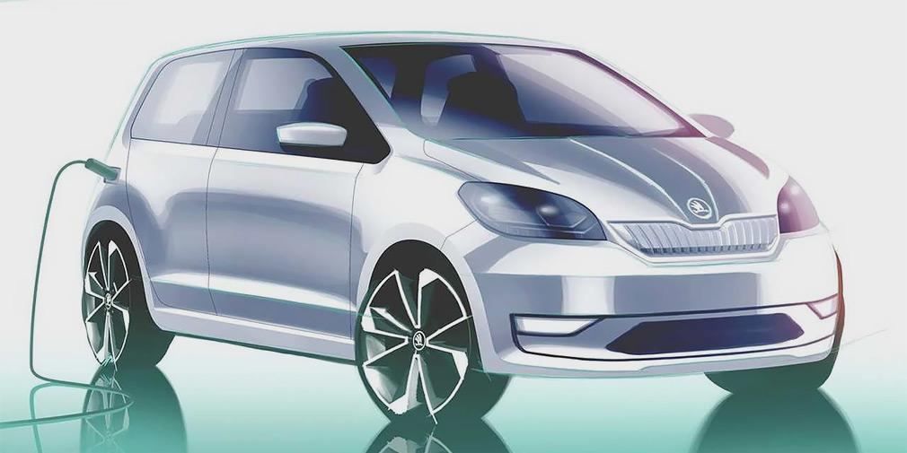 Серийные электрокары Skoda будут отличаться по дизайну от обычных моделей / фото Skoda