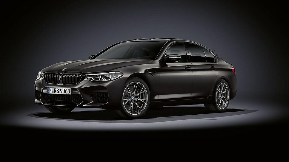 Special Edition of the BMW M5 Edition 35 years dedicated to the 35th anniversary of the BMW model / photo