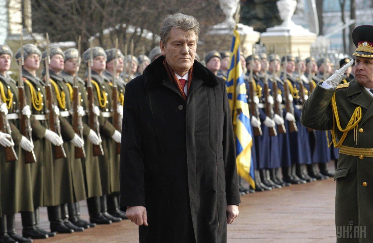 Ющенко устроил целое двухчасовое шоу / фото УНИАН