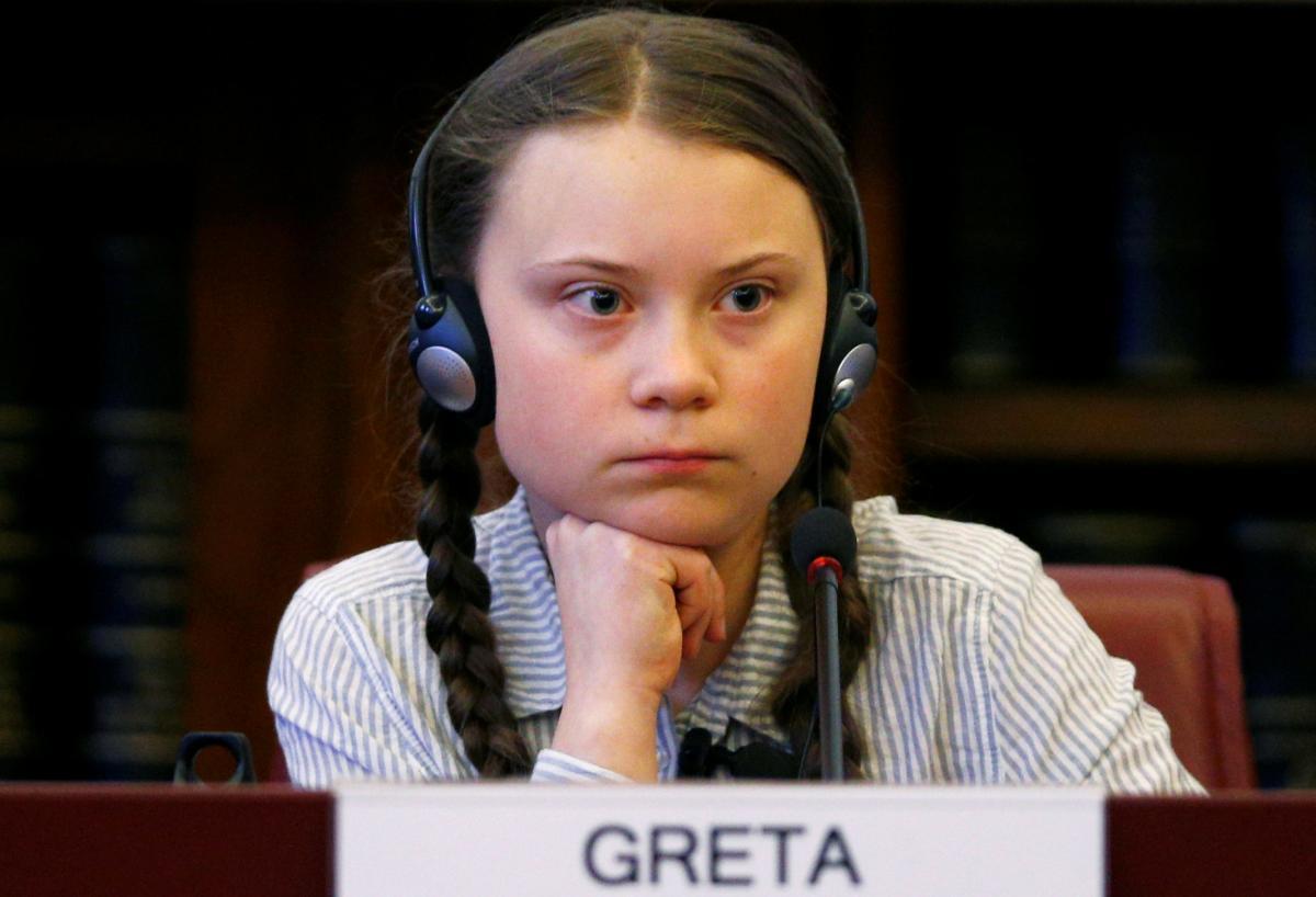 Грета Тунберг / фото REUTERS