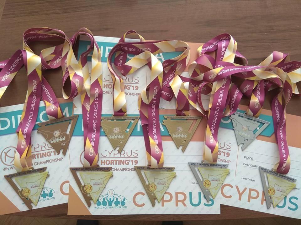 На Кипре были разыграны награды IV чемпионата мира по хортингу / World Horting Federation