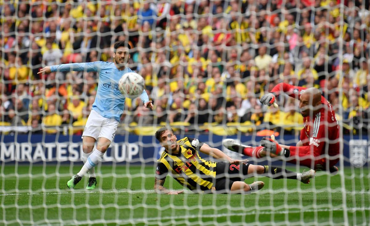 Манчестер Сіті обіграв Уотфорд у фіналі Кубка Англії / REUTERS