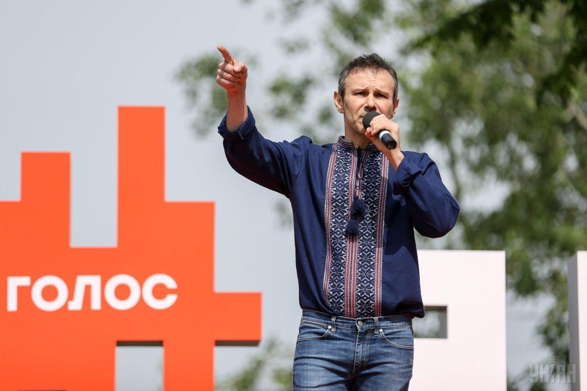 Вакарчук отметил, что «Голос» финансируется за счет пожертвований / фото УНИАН