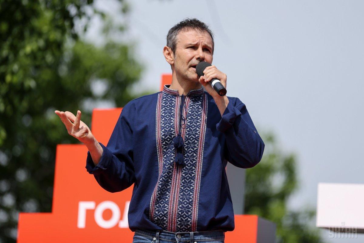 Вакарчук только начинает раскручивать свой проект / фото УНИАН