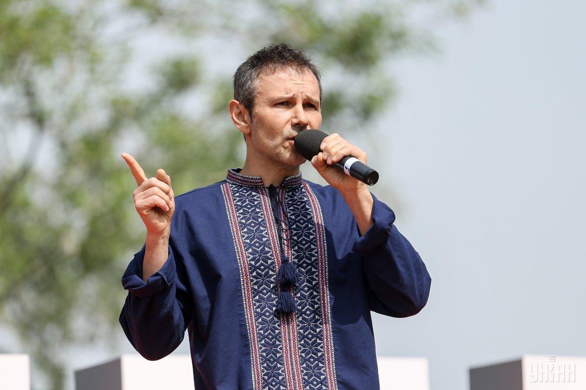 Співак переконує, що за виступ на цьому концерті грошей він не отримав / фото УНІАН