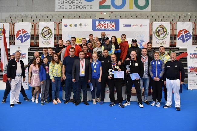 Сборная Украины по самбо завоевала 20 медалей на чемпионате Европы / sambo.net.ua