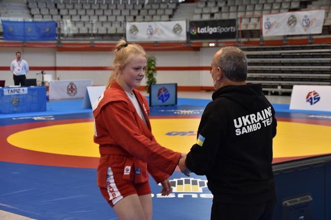 Анна Антикало - чемпионка Европы / sambo.net.ua