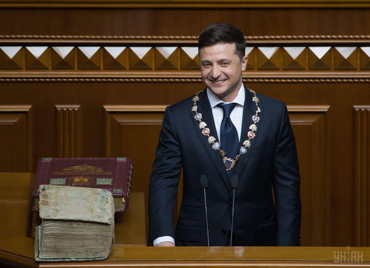 Зеленский принес присягу президента 20 мая / УНИАН