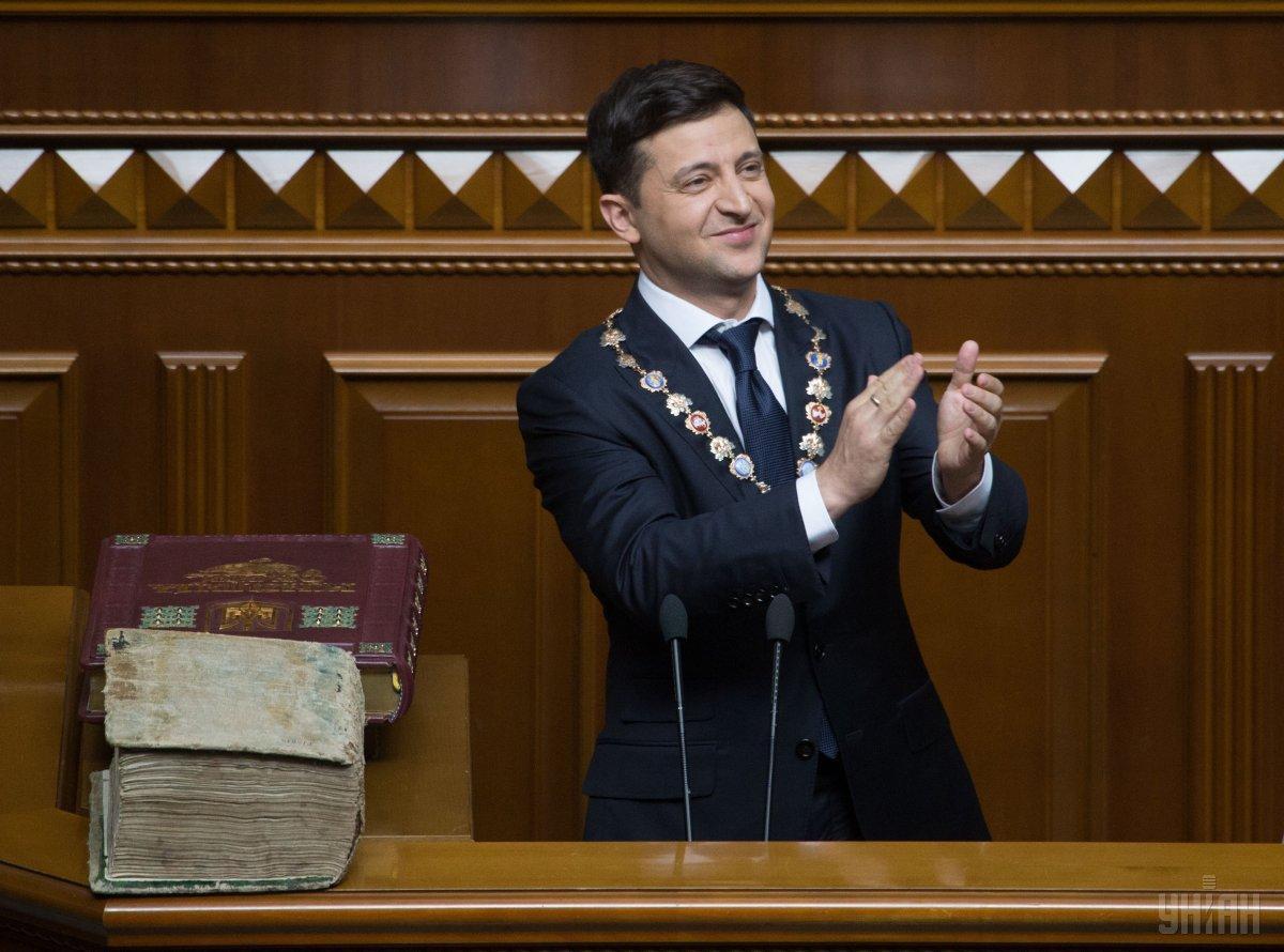 Президенту Зеленському громадяни України довіряють найбільше / фото УНІАН