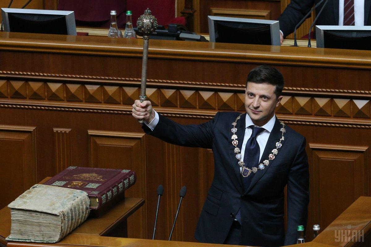20 мая вступил в должность шестой президент Украины Владимир Зеленский / Фото УНИАН