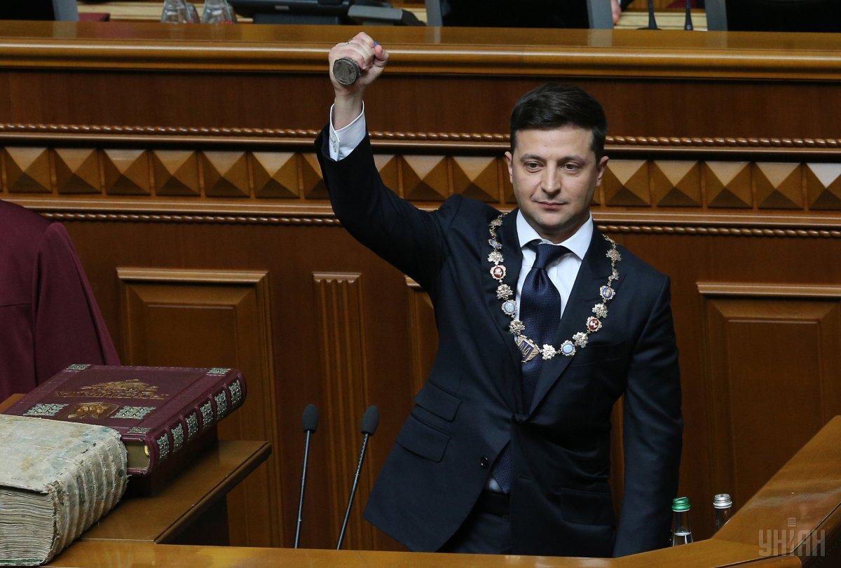Зеленский подписал свой первый указ / фото УНИАН