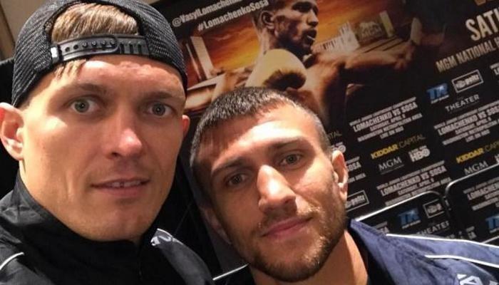 Олександр Усик і Василь Ломаченко наступні бої проведуть у серпні-вересні / фото: instagram.com