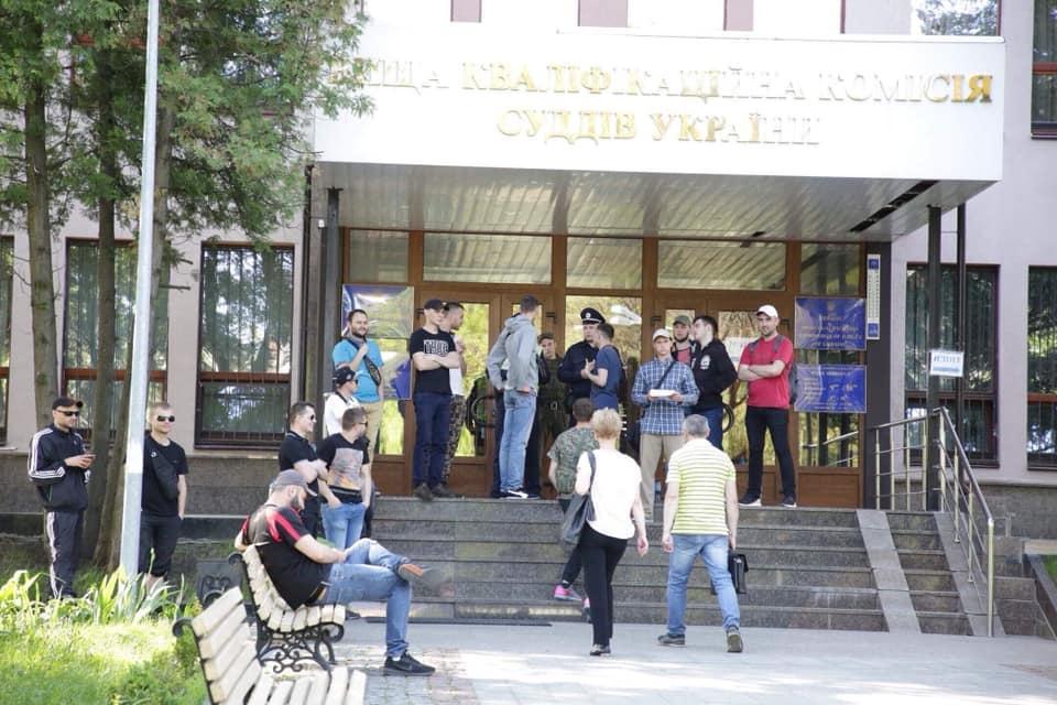 З приводу інциденту ВККС звернулася в поліцію / прес-служба ВККС