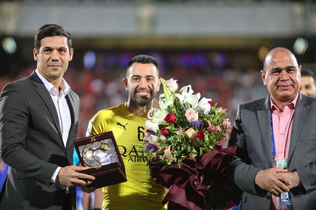 Хави с 2015 года выступал в Катаре / фото: twitter.com/AlsaddSC