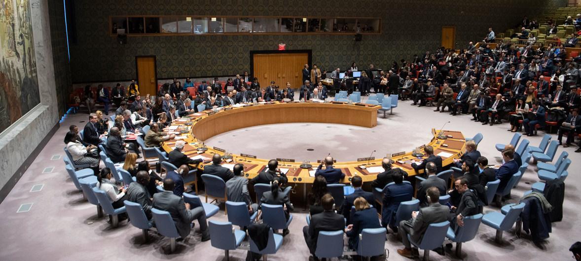 Совбез ООН отказался обсуждать закон о функционировании украинского языка / фото news.un.org/Э.Дебебе