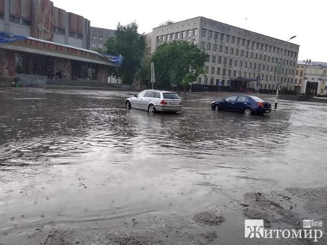 Последствия непогоды в Житомире / zhitomir-online.com