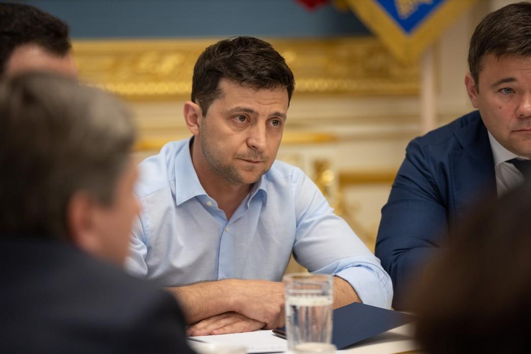 В АП закончилась консультация Зеленского с лидерами фракций и групп парламента / фото president.gov.ua